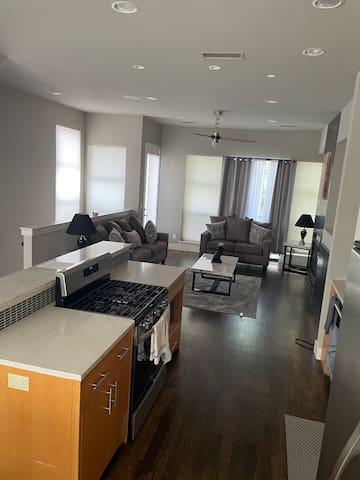Kitchen & Living Room. 2nd Floor