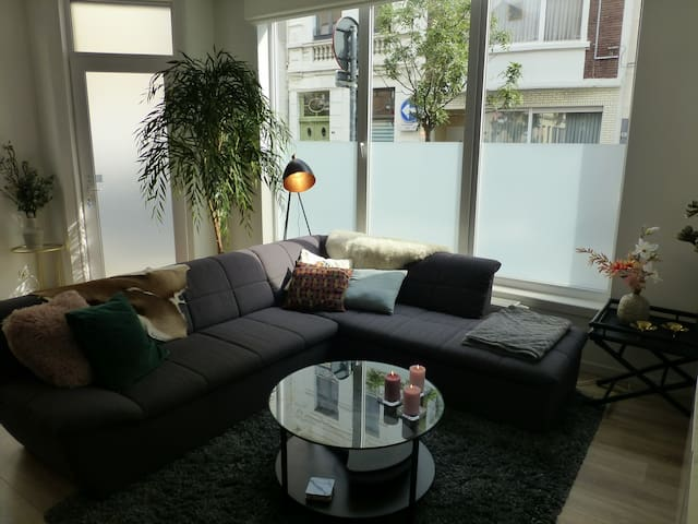 Lovely new flat for a romantic Antwerp city trip