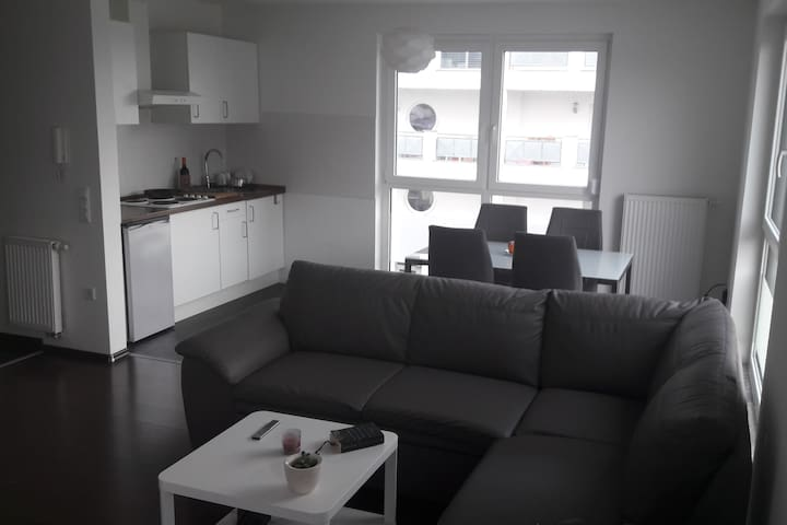 bright 1 room appartment, Raunheim