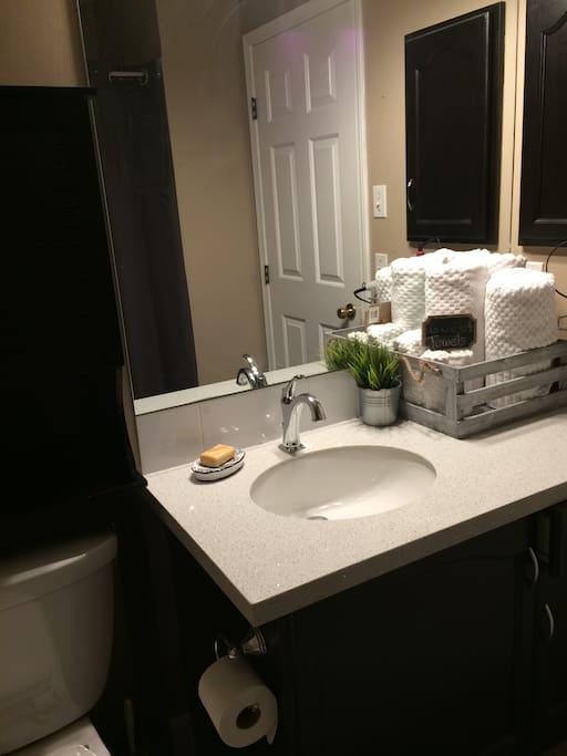 Bathroom, (shared)