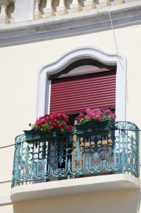 French Balcony within your room