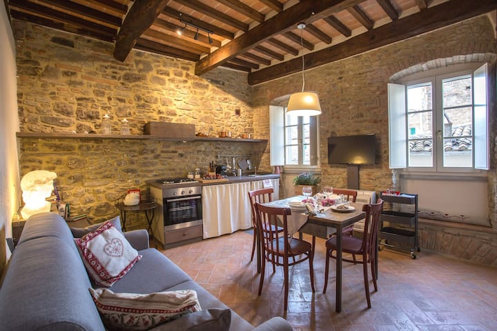 Casa Zeni - Berrettini for 2+2 pax in Cortona - Cortona - Appartement