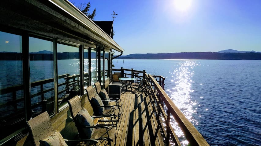 Waterfront Near Alderbrook Privacy and Epic Views!