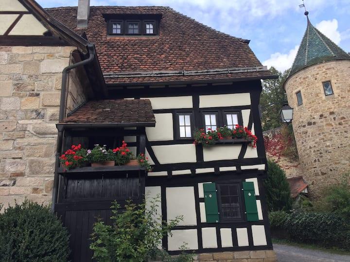 Mittelalterliche Idylle in Tübingen-Bebenhausen