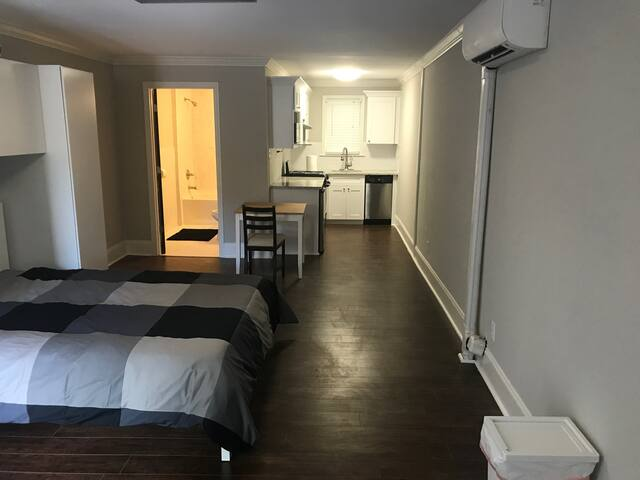 Private Safe apartment! Across Emory! Full Bath