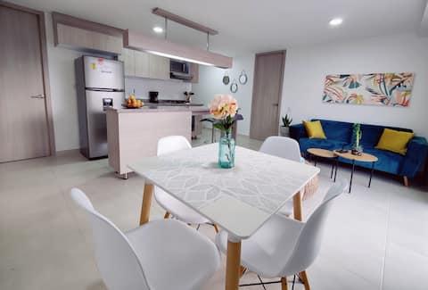 New & Nice Apartment, best location, Floridablanca