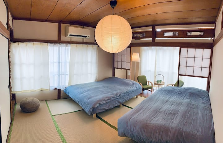 Asakusa Area,65㎡ 2BR Single Building,5mins to Sta.