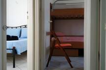 UPPER FLOOR - MASTER BEDROOM - KIDS ROOM - BATHROOM