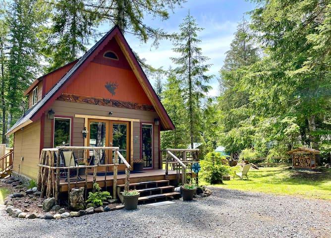 Elk Horn Cabin  A Mount Rainier Retreat
