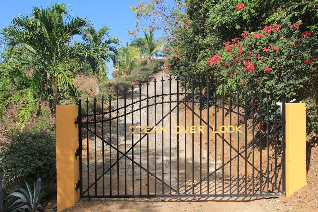 Gate to the property