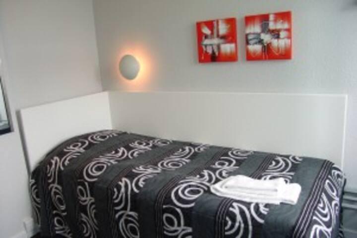 Lækkert enkeltværelse