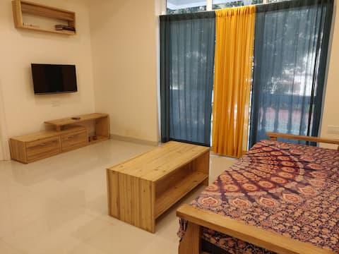 D1 Cosy apartment in North Goa (Casa Rio building)