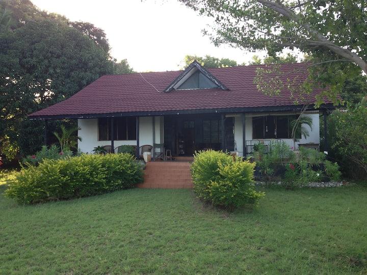Mwambani beach house