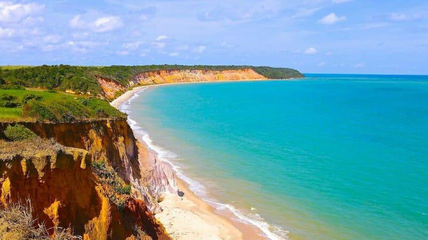 Praia Ilha da Croa, prox. Praia do carro quebrado! - Barra de Santo Antônio - Casa