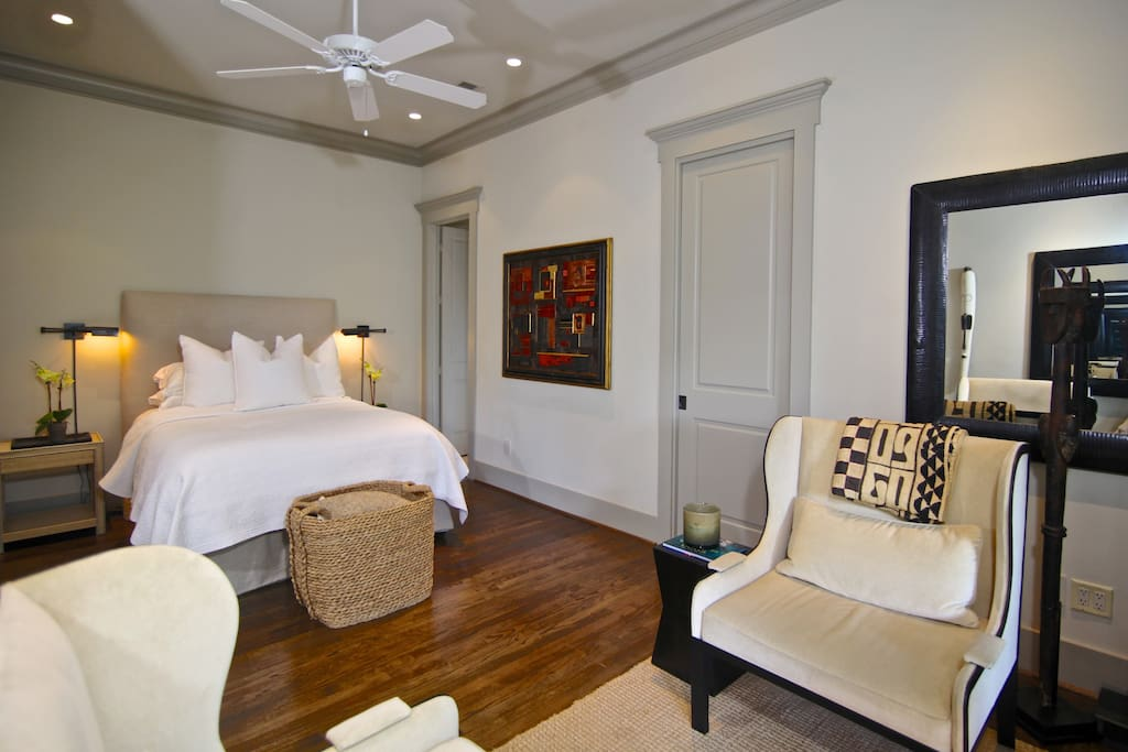 Door in Master Suite is to the large walk in closet enough room to stay as long as you would like.