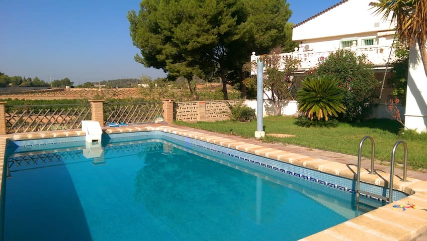 Casa con piscina en montaña cerca Valencia - Náquera - Chalet