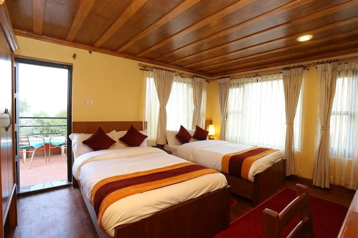 Private Balcony Suite at Balthali Mountain Resort