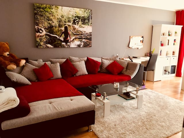 Helles Apartment am Rande Berlins