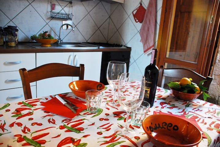 La casina. Rustic home in Tuscany