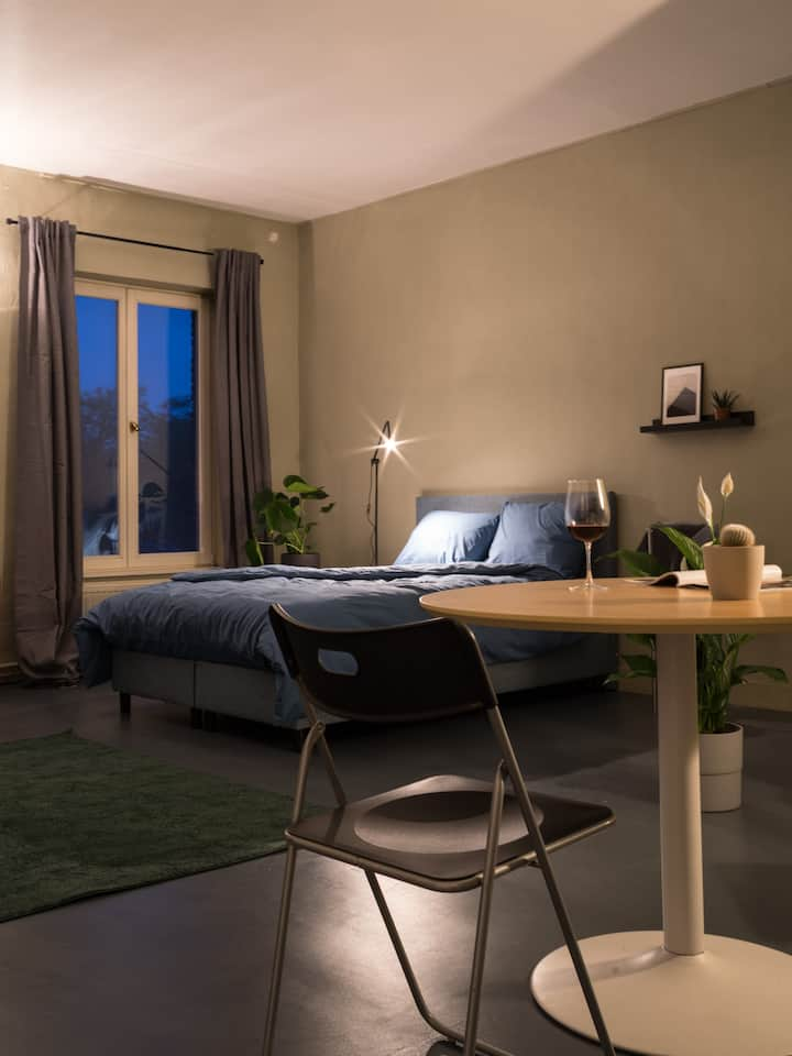 guest room with private parking in center of Ghent