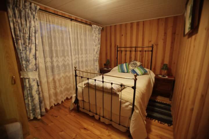 Cozy room with bathroom