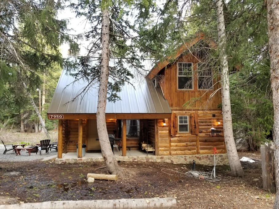 the cozy log cabin cabins for rent in brighton utah