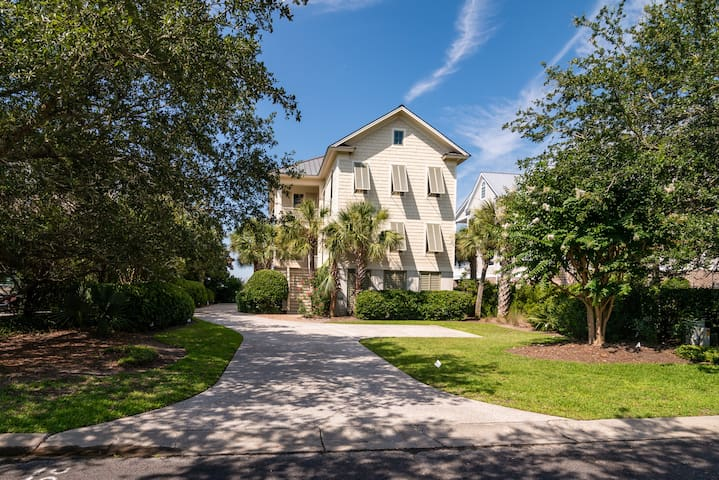 Breathtaking 4 Bedroom 4.5 Bath Debordieu House On North Inlet