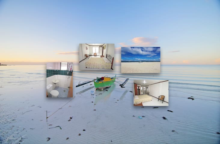 Loty's Beachfront Resort, 'Studio' for 3 guests - Panglao - Apartment