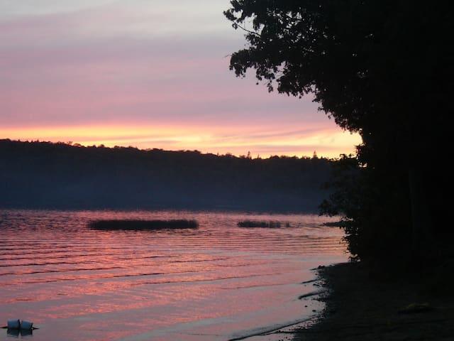 Sunset at Rock Lake Algonquin Park
