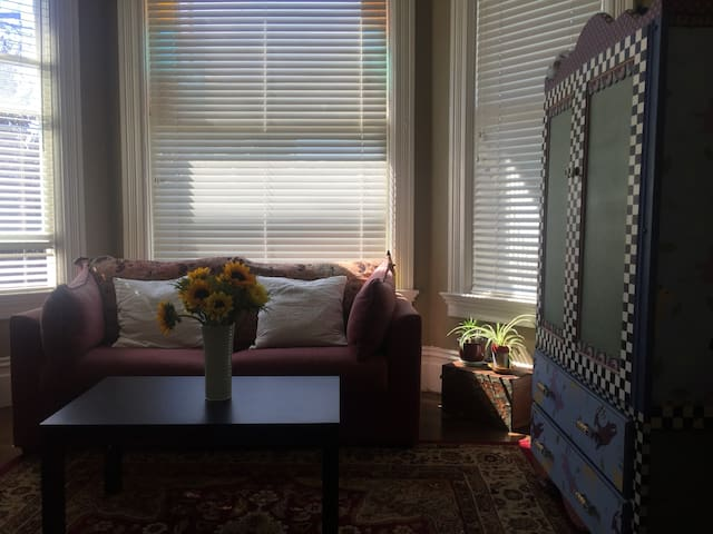 Sunny Private Room in Victorian - Oakland - House