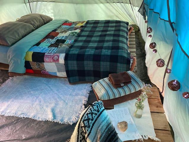 Wildcraft Forest Meadow Tent Farmstay