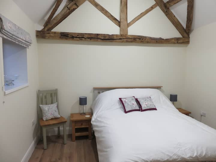 1. Newly converted barn with light airy rooms.