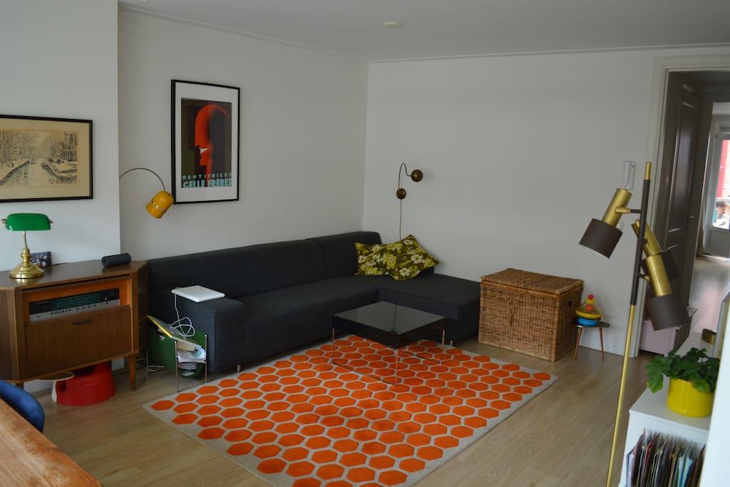 spacious living