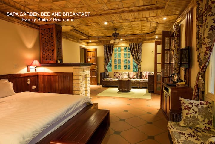 Sapa Garden Bed & Breakfast-Family Suite-3rd floor