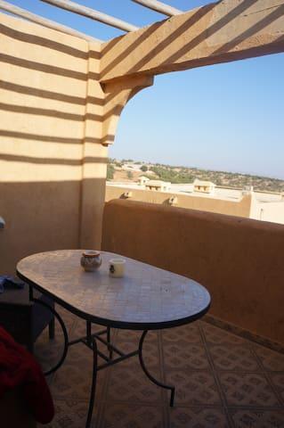 Charmant appartement sur les hauteurs de Taghazout