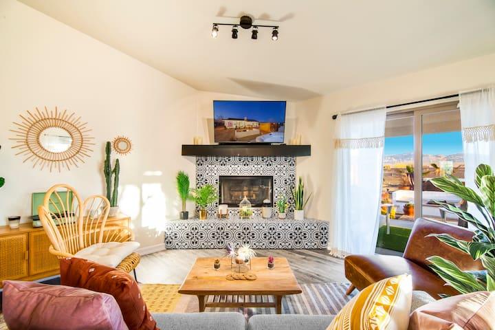 Sun Mesa Sanctuary - a private Joshua Tree Retreat