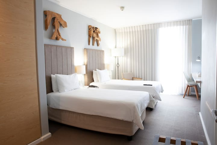 Twin Sea Facing Room @ Atlantic Beach Hotel