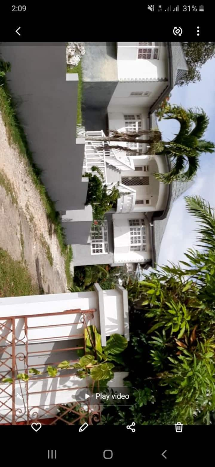 Grey White Cottage