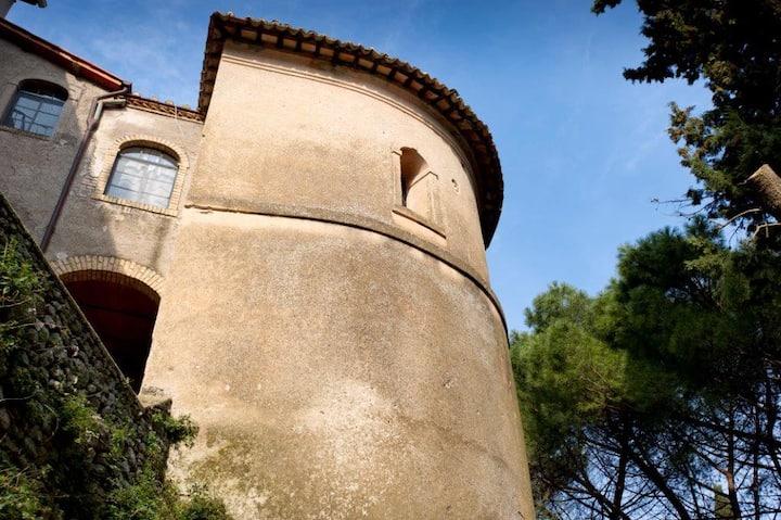 Historical Palace in Sabina hill village sleeps 29