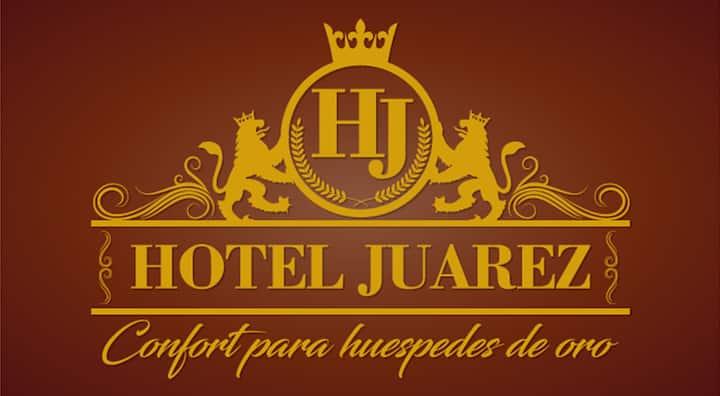 HOTEL JUAREZ  CONFORT PARA HUÉSPEDES DE ORO