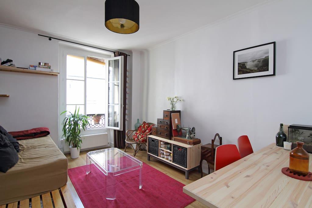 Appartement cosy 40 m2 paris 11e bastille appartements louer paris le - Appartement a renover ile de france ...