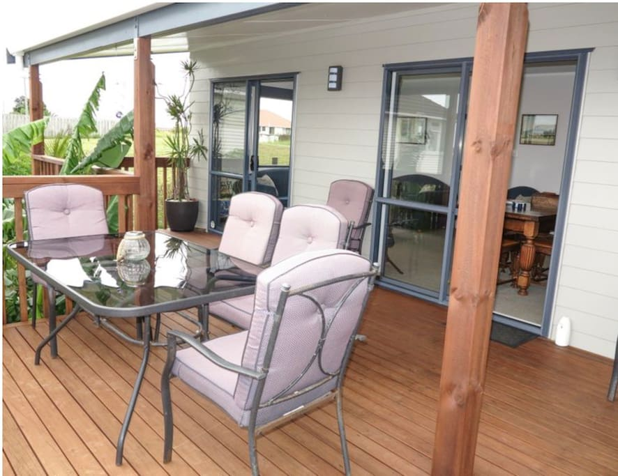 Private Deck for Alfressco Dining