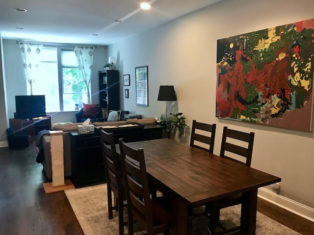 Dining + Living Rooms