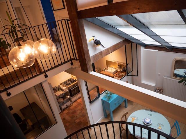 Appartement de 100m2 en hyper centre de Nantes