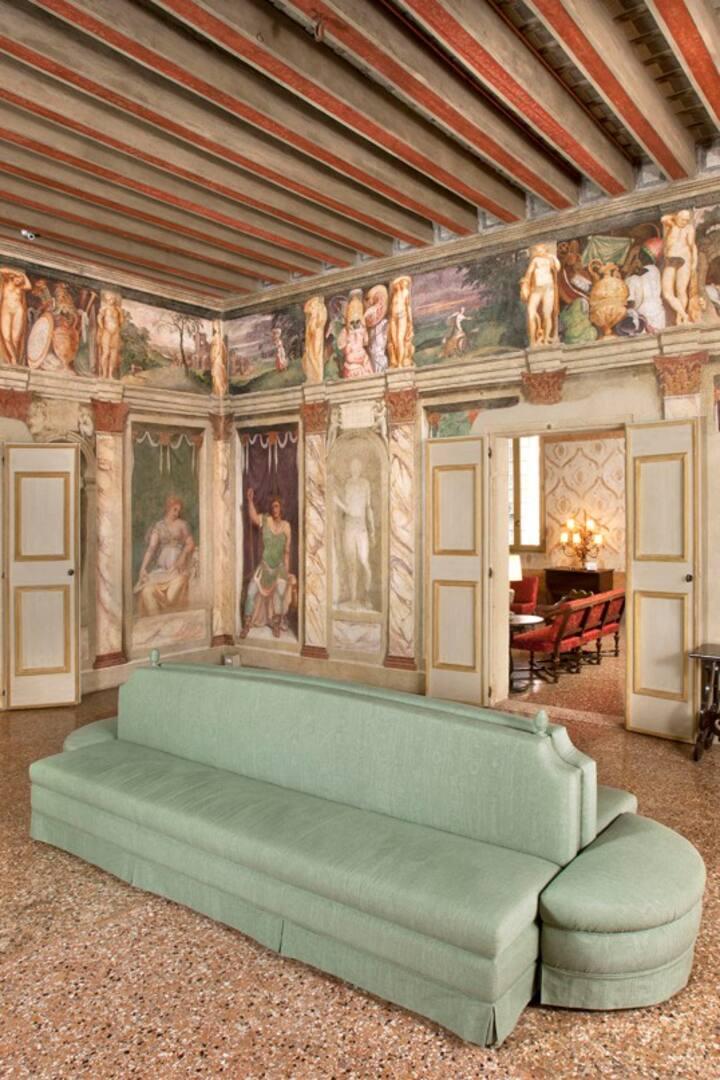 Gli affreschi di Lambert Sustris