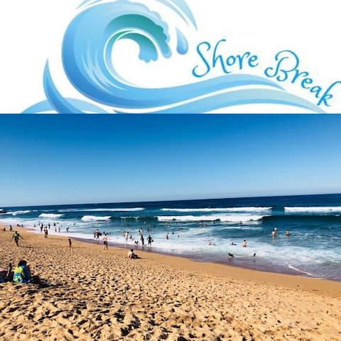 Shore Break, Salt Rock beach