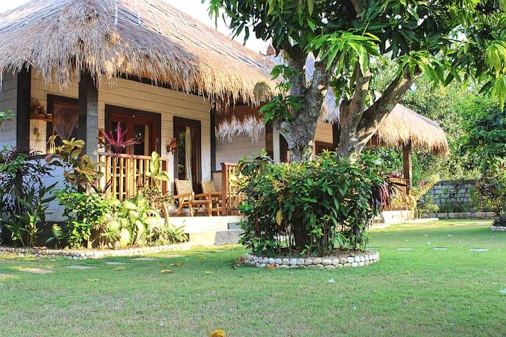 Balinese Beachtown Bungalow