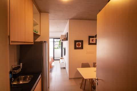 Studio 39 espaçoso e confortável