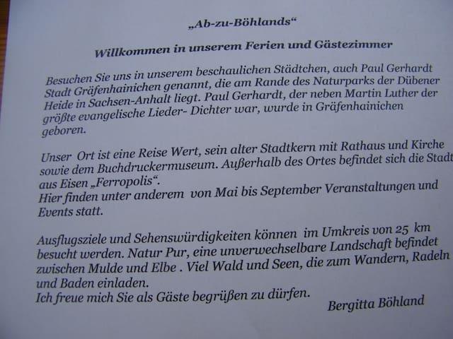 """Ab zu Böhlands"""