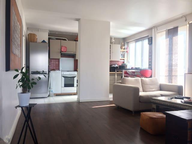 Charmant appartement dans une ville verdoyante - Sucy-en-Brie - Apto. en complejo residencial